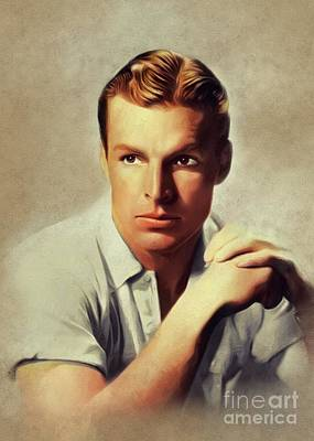 Travel - Buster Crabbe, Vintage Actor by Esoterica Art Agency