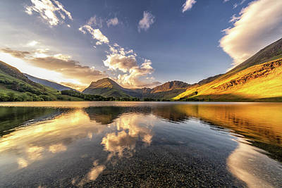 Photograph - Buttermere Sunrise by Framing Places