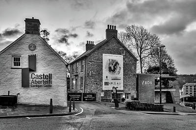 Pasta Al Dente Royalty Free Images - Cardigan Castle Royalty-Free Image by Mark Llewellyn