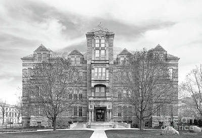 Photograph - Case Western Reserve University Adelbert Hall by University Icons