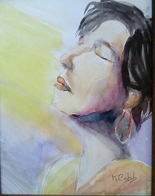 Painting - Catching Some Rays by Katherine Cobb