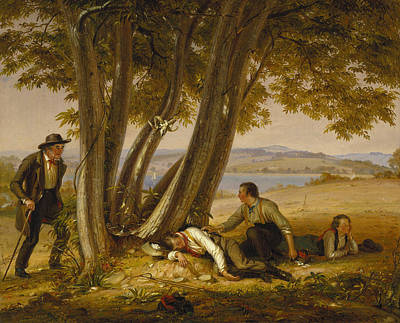 Painting - Caught Napping by William Sidney Mount