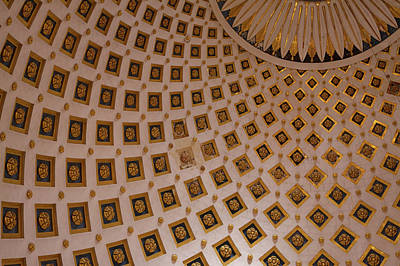 Photograph - Ceiling Of Mosta Church,  Mosta by Latitudestock - Emma Durnford