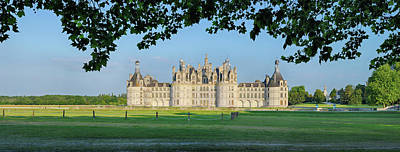Photograph - Chambord Castle Chateau De Chambord by Martin Ruegner