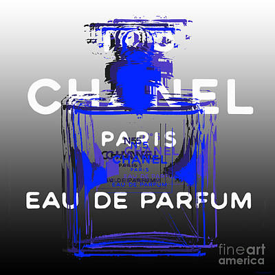 Digital Art - Chanel No 5 - Pop Art by Jean luc Comperat