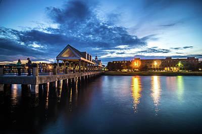 Photograph - Charleston South Carolina Views At Sunset by Alex Grichenko