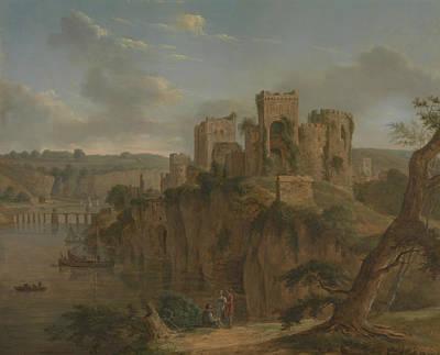 Painting - Chepstow Castle by Hendrik Frans de Cort