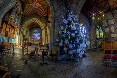 Photograph - Christmas Cathedral by Ian Mitchell