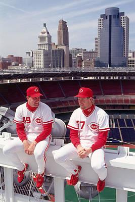 Ohio Photograph - Cincinnati Reds by Ronald C. Modra/sports Imagery