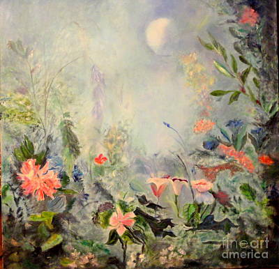 Painting - Cinderellas Garden by Dagmar Helbig