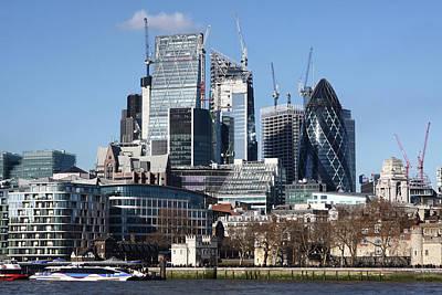 Photograph - City Of London by Aidan Moran