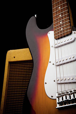 Photograph - Classic Electric Guitar And Amp Still by Halbergman