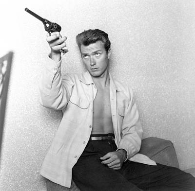 Photograph - Clint At Home by Michael Ochs Archives