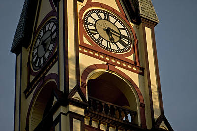 Photograph - Clock Tower by Paul Mangold