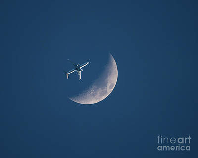Photograph - Close Encounter Of The Lunar Kind by Kevin McCarthy
