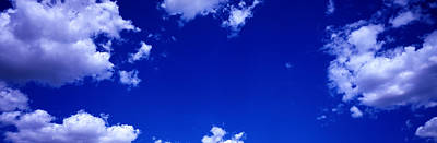 Photograph - Cloudy Blue Sky by Jacobs Stock Photography