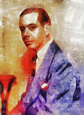 Recently Sold - Musicians Royalty Free Images - Cole Porter, Music Legend Royalty-Free Image by Esoterica Art Agency