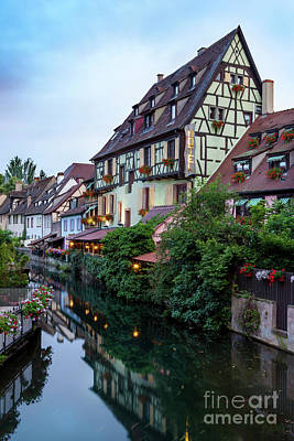 Photograph - Colmar Evening by Brian Jannsen