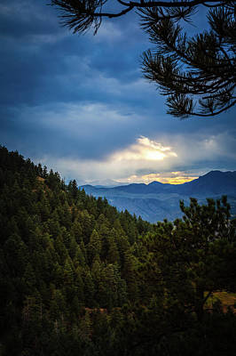Photograph - Colorado Front Range by Jeanette Fellows