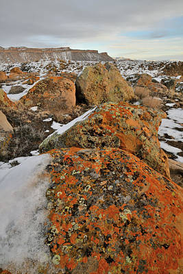Photograph - Colorful Boulders Of The Book Cliffs by Ray Mathis