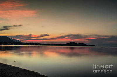 Photograph - Colorful Sunset by Michelle Meenawong