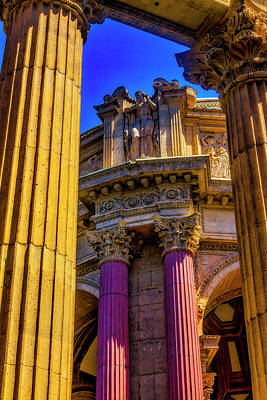 Photograph - Columns Of The Palace Of Fine Arts by Garry Gay