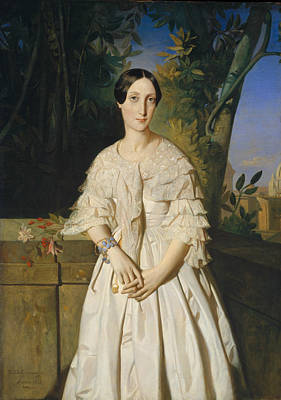 Painting - Comtesse De La Tour-maubourg by Theodore Chasseriau