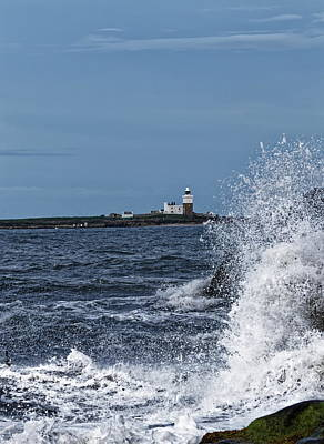 Modern Sophistication Beaches And Waves Royalty Free Images - Coquet Island Royalty-Free Image by Jeff Townsend