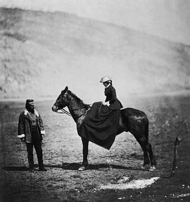 Photograph - Crimean War by Roger Fenton