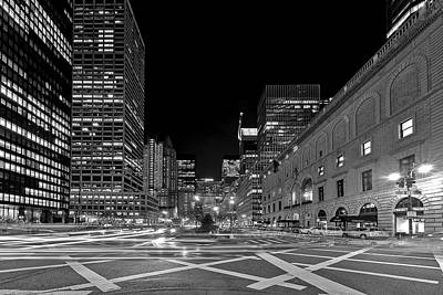 Photograph - Criss Crossing New York City by Susan Candelario