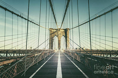 Royalty-Free and Rights-Managed Images - Cross The Bridge by Evelina Kremsdorf