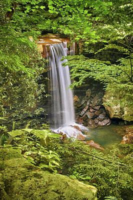 Photograph - Cucumber Falls by Dan Urban