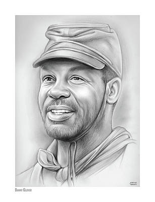 Drawings Royalty Free Images - Danny Glover Royalty-Free Image by Greg Joens