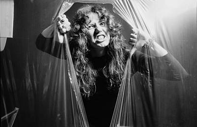 Photograph - David Coverdale by Fin Costello