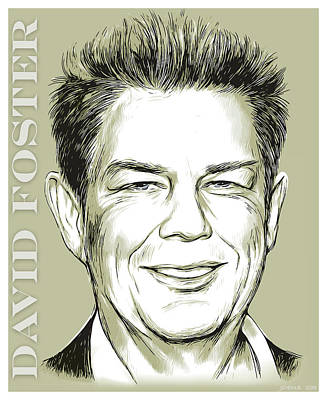 Digital Art Royalty Free Images - David Foster Royalty-Free Image by Greg Joens
