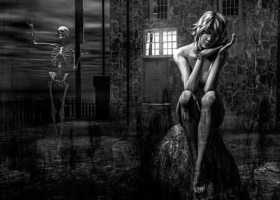 Digital Art - Death Is A Poet by Bob Orsillo