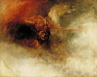Painting - Death On A Pale Horse by Joseph Mallord William Turner