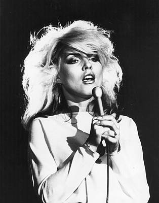 Photograph - Debbie Harry by Hulton Archive