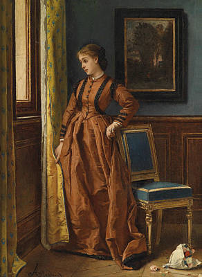 Painting - Deja by Alfred Stevens
