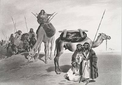 Painting - Desert Arabs by Celestial Images
