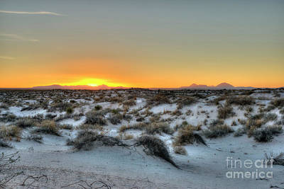 Photograph - Desert Sunset by Joe Sparks