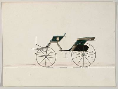 Sports Paintings - Design for Phaeton unnumbered  1850-74 by MotionAge Designs