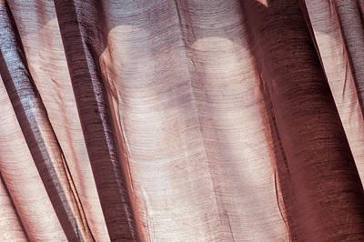 Photograph - Detail Of Curtain by Robert Ullmann