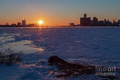 Photograph - Detroit River by Jim West