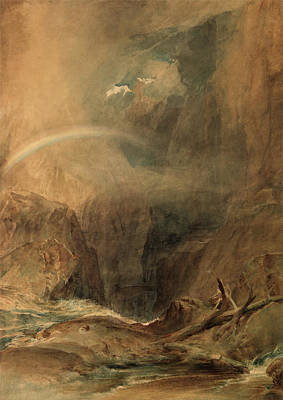Painting - Devil's Bridge - Saint Gotthard's Pass by Joseph Mallord William Turner