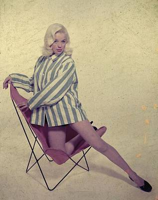 Photo Shoot Photograph - Diana Dors by Carl Sutton