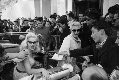 Human Interest Photograph - Diana Dors by John Chillingworth