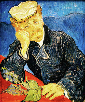 Painting - Doctor Paul Gachet by Vincent Van Gogh