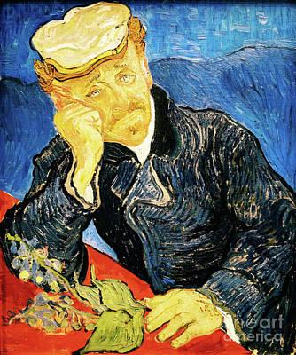 Painting - Doctor Paul Gachet by Vincent Van Gogh