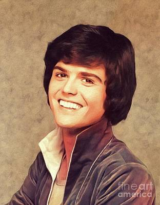 Music Royalty-Free and Rights-Managed Images - Donny Osmond, Singer/Actor by Esoterica Art Agency